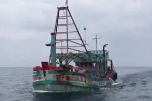 Bắt giữ tàu chở 100 nghìn lít dầu lậu trên biển Tây Nam