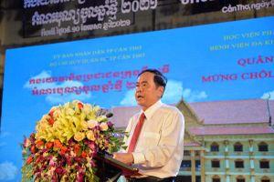Phó Chủ tịch Quốc hội Trần Thanh Mẫn dự Tết quân-dân Cần Thơ mừng Chôl Chnăm Thmây