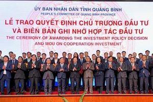 Quảng Bình yêu cầu theo sát, đốc thúc, gỡ vướng mắc cho các dự án ghi nhận tại Hội nghị xúc tiến đầu tư