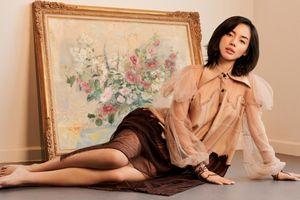 'Cô em Trendy' hóa nàng xuân với trang phục tái chế của NTK Xuân Lê