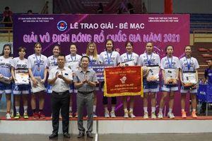 Hai đội bóng rổ nam, nữ Hà Nội cùng giành Huy chương đồng quốc gia