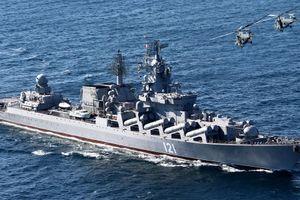 Hải quân Nga tập trận gần Crimea giữa lúc căng thẳng với Ukraine gia tăng