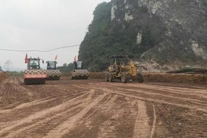 Cao tốc Mai Sơn- quốc lộ 45 tăng hơn 110 tỷ đồng chi phí giải phóng mặt bằng