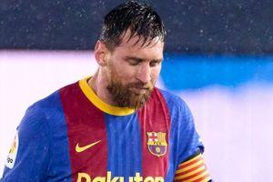 Messi nối dài trận tệ hại ở El Clasico