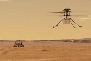 Trực thăng NASA sắp cất cánh lần đầu tiên trên Sao Hỏa