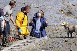 Người phụ nữ Mỹ nổi tiếng vì 15 phút mắc kẹt trong bùn
