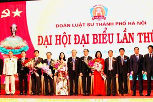 Phó Chủ tịch Thường trực UBND TP Lê Hồng Sơn: Xây dựng Đoàn Luật sư Hà Nội thực sự là mái nhà chung của các thành viên
