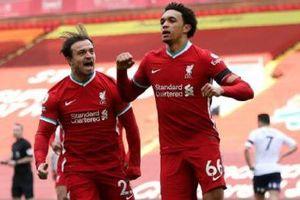 Liverpool thắng nhọc Aston Villa 2-1