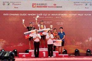Sôi động, hấp dẫn Giải Marathon Quốc tế TP Hồ Chí Minh Techcombank