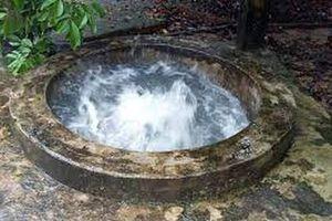 Giếng nước phun quanh năm ở Phú Quốc