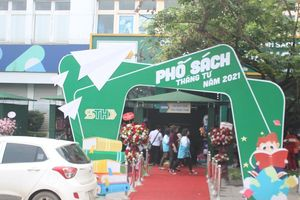 Thái Nguyên lần đầu tiên tổ chức phố sách