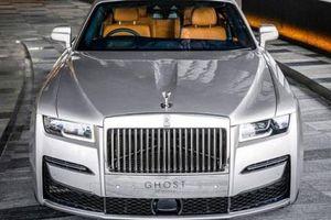 'Xế sang' Rolls-Royce Ghost 2021 ra mắt với thiết kế đẳng cấp, giá đề xuất từ 8 tỉ đồng