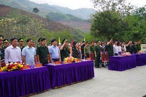 Khánh thành Giai đoạn 1 Nhà bia ghi tên các anh hùng liệt sĩ xã Ma Li Pho
