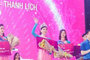 Nữ sinh Phan Châu Trinh giành giải nhất học sinh, sinh viên thanh lịch Đà Nẵng