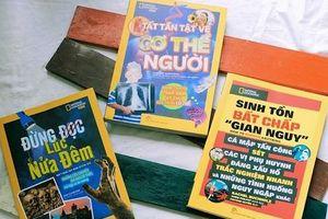 Lần đầu ra mắt bản tiếng Việt của bộ sách nổi tiếng thế giới 'National Geographic Kids'
