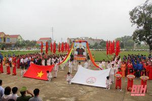 Hơn 300 vận động viên tranh tài tại Đại hội TDTT xã Đông Khê lần thứ IX