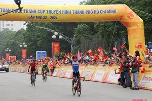 Phan Tuấn Vũ về nhất chặng Hà Nội – Thanh Hóa, Cuộc đua xe đạp toàn quốc cúp truyền hình TP Hồ Chí Minh 'Non sông liền một dải'
