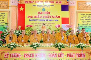 Bình Dương: Đại đức Thích Tắc An làm Trưởng ban Trị sự huyện Dầu Tiếng