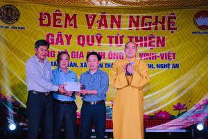 Chùa Chí Linh tổ chức đêm văn nghệ gây quỹ từ thiện