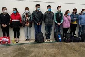 11 công dân Việt Nam xuất cảnh trái phép sang Trung Quốc