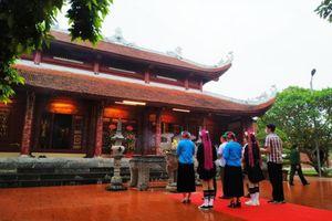 Đền Xã Tắc (Quảng Ninh) đón nhận bằng xếp hạng Di tích Quốc gia