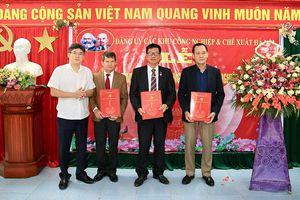 Thành lập Đảng bộ Khu công nghiệp Quang Minh