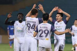 Toàn cảnh trận thắng 4-0 của CLB Hà Nội trước Than Quảng Ninh