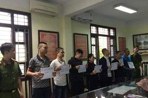 Nam Định: Bắt nhóm côn đồ đòi nợ thuê bằng mắm tôm