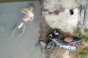 Nam thanh niên gục chết dưới mương nước