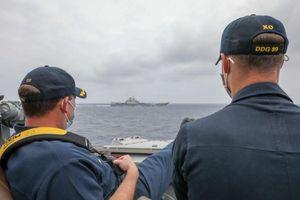 Biển Đông: Mỹ gửi thông điệp 'coi thường' hải quân Trung Quốc