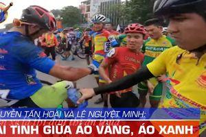 Cảm động hình ảnh Tấn Hoài chăm vết thương Lê Nguyệt Minh