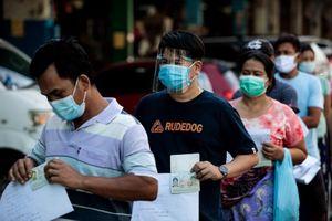 Số ca mắc Covid-19 tăng đột biến tại Thái Lan