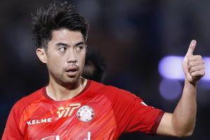 Lee Nguyễn ghi bàn trong trận hòa của CLB TP.HCM