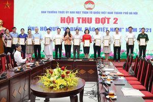 Hà Nội: Hơn 35,7 tỷ đồng ủng hộ Quỹ ''Vì biển, đảo Việt Nam'' năm 2021