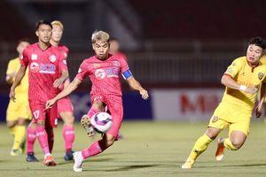 Vòng 9 V.League 2021: CLB Sài Gòn đã biết thắng, Viettel áp sát ngôi đầu
