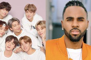 BTS đã gián tiếp thông báo tình anh em với Jason Derulo đã 'rạn nứt'