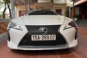 Lexus LC500h 'hàng hiếm' rao bán hơn 8 tỷ tại Hải Phòng