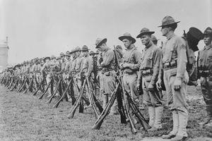 Bộ ảnh lính Mỹ sống - chiến đấu trên chiến trường Thế chiến 1