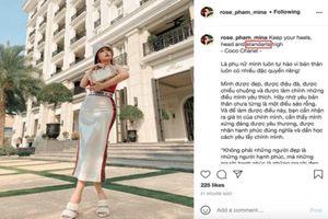 Tay ôm cả bọc tiền, vợ hai Minh Nhựa bị netizen bắt lỗi điều này