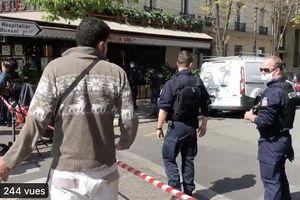Xả súng bên ngoài bệnh viện ở Paris, 2 người trúng đạn