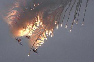 Chiến cơ Nga 'dội lửa' vào IS ở Syria