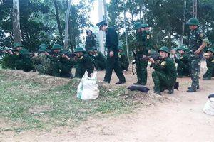 Huấn luyện chiến sĩ mới đạt chất lượng, hiệu quả, an toàn