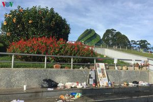Ðà Lạt bắt đầu phạt nguội hành vi vứt rác bừa bãi