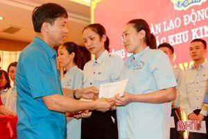 Người lao động các khu kinh tế Hà Tĩnh hưởng ứng Tháng Công nhân 2021