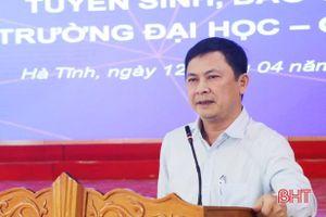 Tìm giải pháp phát triển các trường đại học, cao đẳng tại Hà Tĩnh
