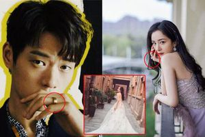 Dương Mịch và Ngụy Đại Huân đeo nhẫn ở ngón áp út cùng thời điểm, netizen nghi ngờ cặp đôi sắp kết hôn