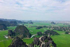 Trong xanh non nước di sản Tràng An - Ninh Bình
