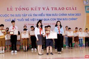 Vượt 1,2 triệu bài viết, học sinh lớp 4 giành giải đặc biệt cuộc thi sưu tầm tem