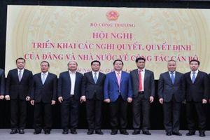 Ông Nguyễn Hồng Diên chính thức nhận nhiệm vụ tại Bộ Công Thương