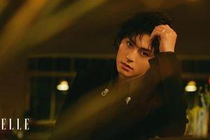 Trương Triết Hạn khoe tóc dài lãng tử trên tạp chí Elle: Con người vừa kiên cường vừa dịu dàng như 'A Tự'